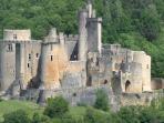 Chateau de Bonaguil - lots of history here - 45 minutes drive