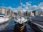 Gijon harbor