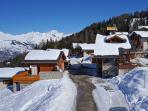 Chalet Le Dahu, easy acces with beautiful view