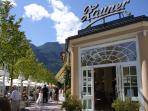 Cafe Zauner in nearby Bad Ischl is definitely well worth popping into for a tasty treat