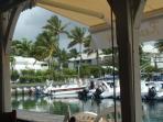 marina et vue de la residence