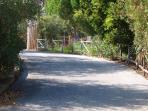 Strada di accesso privata