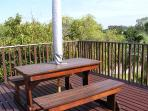 Sit on our deck and enjoy the view