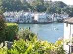 Delightful Views over the river to Fowey
