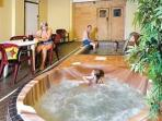 jacuzzi (chargeable by penstowe manor )