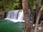 La Cascade (waterfalls about 4km from apartment)