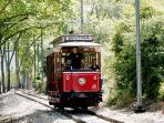 Tram to the beach (Sintra)