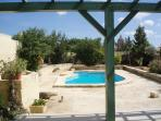 south facing private swimming pool