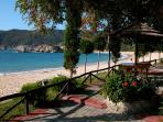 Greek taverna on the beach of Kalamitsi-only 50m from the villa