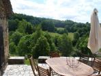 vue de la terrasse