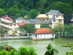 View of the temple of Tooth relic, Kandy, Sri Lanka