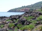 Santa Tecla sea