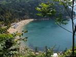 Baia Blu, Liguria