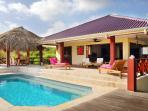 Comfortable villa with breathtaking views.