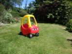 Toddlers car at Lower Hearson Farm