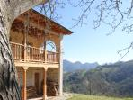 Casa Usborne - the house has spectacular views looking out towards the Picos Mountains