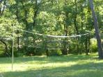 Filet de volley dans le parc