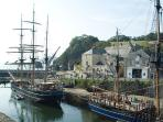Charlestown tall ships harbour