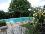 piscina esterna a disposizione ospiti