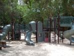 Part of the childrens playground area
