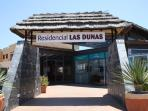 Entrance to Residencial Las Dunas