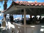 Bar in Cumlubuk a short sail from Marmaris on a day tripper boat
