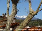 View to L'Canigou from Chanbre Matisse