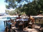 Lunch in a local restaurant in Marmaris bay