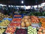 Fresh fruits and vegetables, spices and herbs to be purchased from our local Beldibi Sunday market