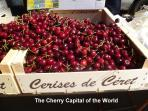 The Cherry Festival is held each May