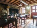 Salón desayunos Casa de Roque