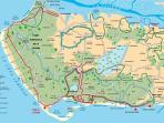 Les pistes cyclables et chemins de randonnées
