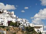 View of Mojacar Old Town