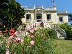 Le Trianon d'Auvers, maison fleurie