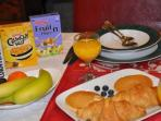 With Compliments Breakfast Welcome Pack to Enjoy in Your Apartment
