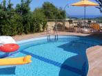 Helidonia Villas-Crete, villa STEFANOS / panoramic view from the pool