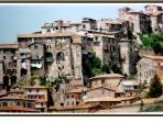 Olevano Romano Veduta 'parte del borgo antico'