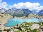 Lac Blanc in summer