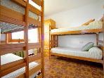 Dormitorio nº 4. Dos literas de 2 camas cada una. Primer Piso