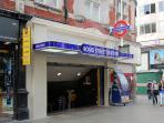 Bond Street Tube Station - 2 minutes walk