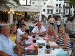 Evening out dining in Duquesa Port........Living the dream!