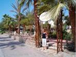 Have a walk at Naama Bay Promenade