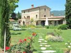 Il Moro Novo front and private garden