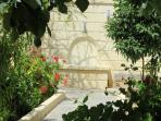 Pozzo sorgivo in giardino