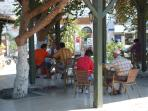 There are lots of cafes and bars in Gulluk