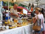 Nearby Vence has a lively Friday market
