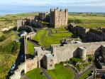 Bamburgh Castle - Surrounding area