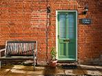 Enjoy a quiet sit on the bench outside the cottage and reflect on your visit to Suffolk