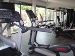 The gym at the club house