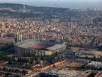 Camp Nou Barcelona's famous football stadium, you can visit the museum and get pictures of play